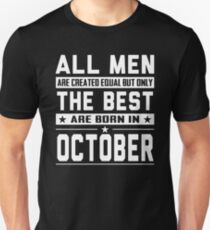 October Birthday Quotes T-Shirts | Redbubble