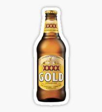 XXXX Gold Sticker