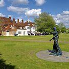 Elisabeth Frink's Walking Madonna Sculpture by Andrew Harker