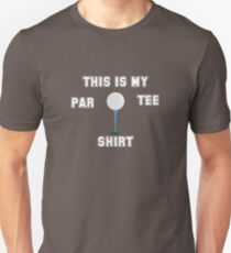 Golf Design T-Shirt