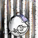 The little birch tree  by Jenny Wood