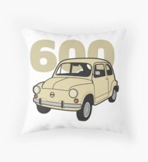 600 Beige v2 Throw Pillow