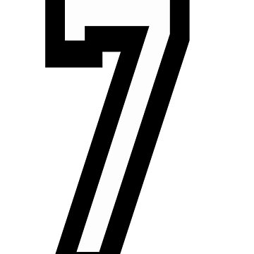 7, TEAM, SPORTS, NUMBER 7, SEVENTH, SEVEN, Competition by TOMSREDBUBBLE