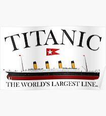 Titanic, 1912, RMS Titanic, Cruise, Ship, Disaster Poster