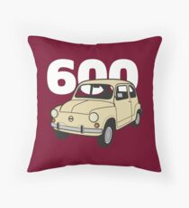 600 Beige v2 (dark) Throw Pillow