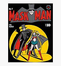 Maskman Photographic Print