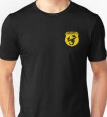 Abarth monochrome logo (yellow) Unisex T-Shirt