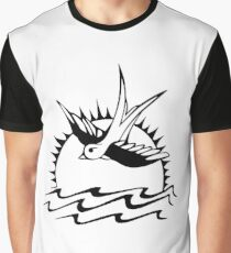 Sparrow Black Graphic T-Shirt