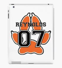The Foxhole Court Reynolds with paw iPad Case/Skin
