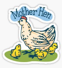 Mother Hen Sticker