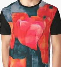 Tulip Field at Night Graphic T-Shirt