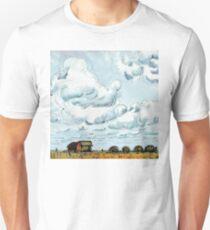 Prairie Farmland and Clouds T-Shirt