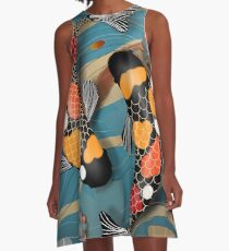 Koi Watergarden A-Line Dress