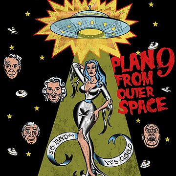 Plan 9 from outer space tee shirt by Dailytees