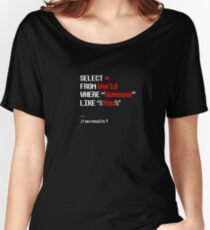 SQL Women's Relaxed Fit T-Shirt