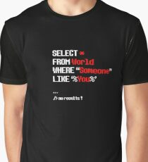 SQL Graphic T-Shirt