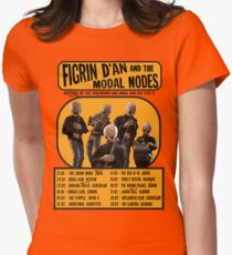 The Cantina Band Tour Poster Women's Fitted T-Shirt