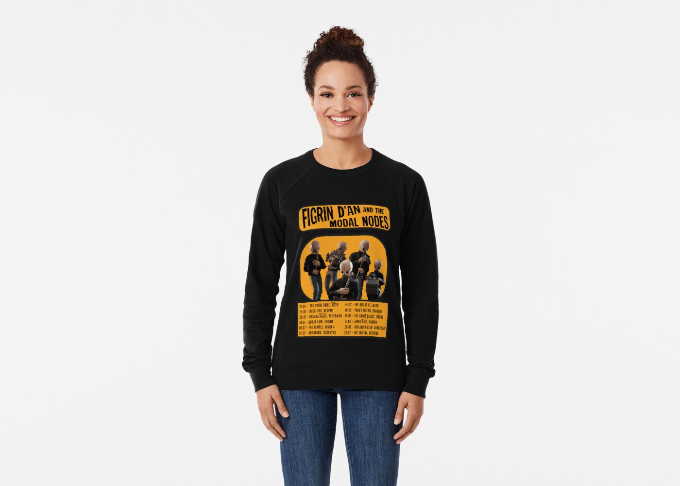 The Cantina Band Tour Poster Classic TShirt Gift Trending Design T Shirt