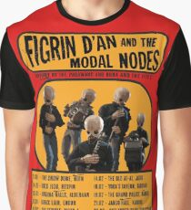 The Cantina Band Tour Poster Graphic T-Shirt