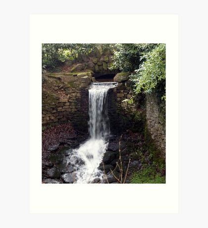 Newhay Waterfall Art Print