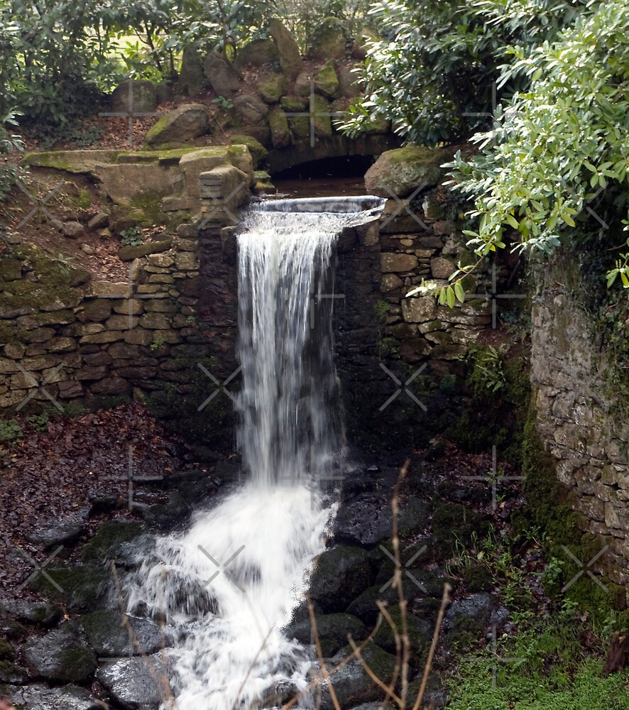 Newhay Waterfall by Catherine Hamilton-Veal  ©
