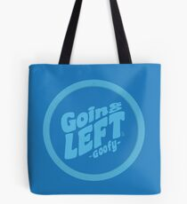 Going Left - Skyblue Tote Bag