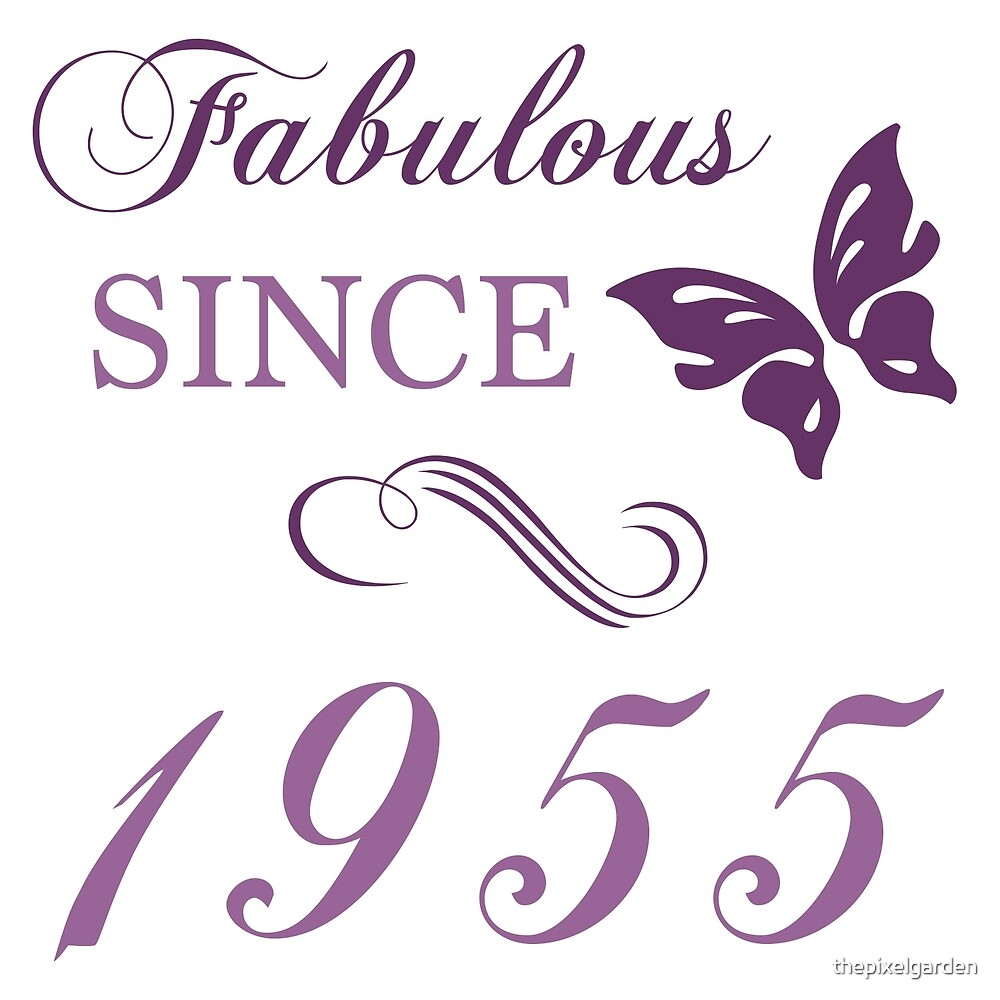 1955 Fabulous Birthday by thepixelgarden