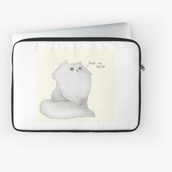 Feed the cat! Laptop Sleeve
