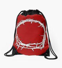 Crown of Thorns / Jesus Christ Art Drawstring Bag