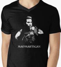 Madmartigan Men's V-Neck T-Shirt