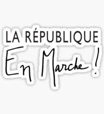 La République En Marche! (For Light Colors) Sticker