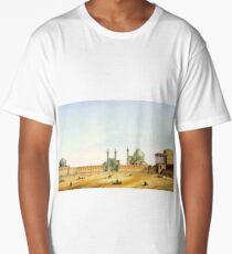 Pascal Coste's depiction of Naqsh-e Jahan Square, Isfahan Long T-Shirt