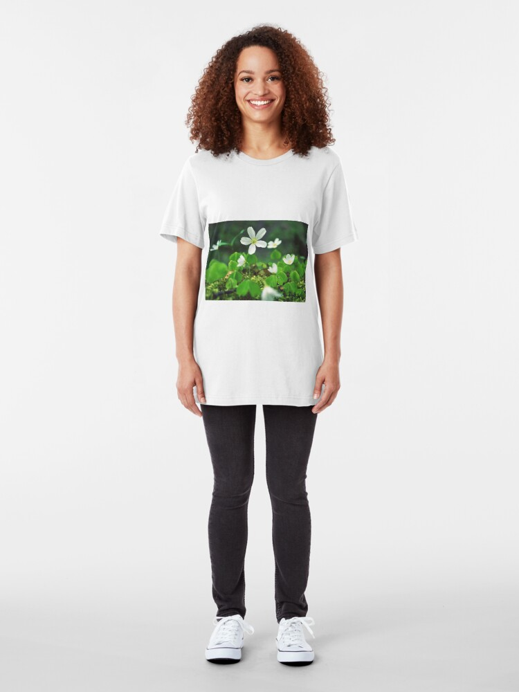 Alternate view of Oxalis acetosella Slim Fit T-Shirt