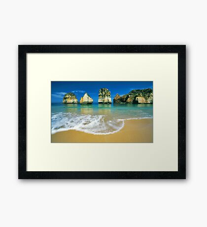 those rocks...that water... Framed Print