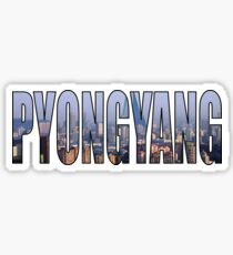 Pyongyang Sticker
