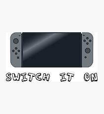 Video Game Inspired Console Nintendo Switch Photographic Print