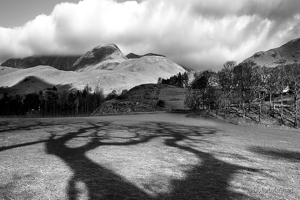 Mountains and shadow by BulletMa9net