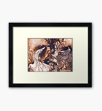 Fairies by Arthur Rackham Framed Print
