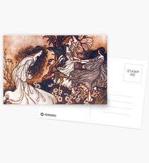 Fairies by Arthur Rackham Postcards