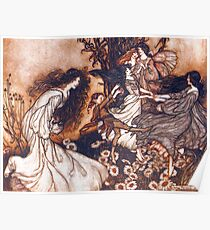 Fairies by Arthur Rackham Poster