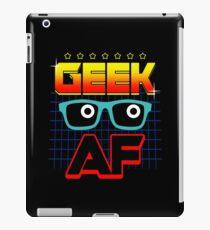 Geek AF iPad Case/Skin