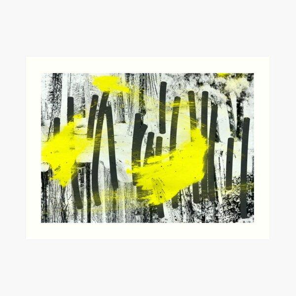 Jahrestagung der zitronengelben Waldfeen Art Print