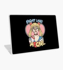 Sailor Moon- Fight Like a Girl Laptop Skin