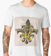 The Musketeers All For One and One For All! Men's Premium T-Shirt