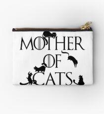 Mother of Cats Daenerys Spoof Crazy Cat Lady GoT Zipper Pouch