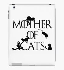Mother of Cats Daenerys Spoof Crazy Cat Lady GoT iPad Case/Skin