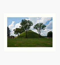 The Graves Creek Mound Art Print