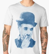 Chaplin blue Men's Premium T-Shirt