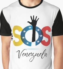 SOS Venezuela Graphic T-Shirt