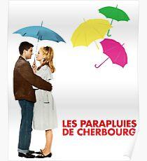 Les parapluies Poster